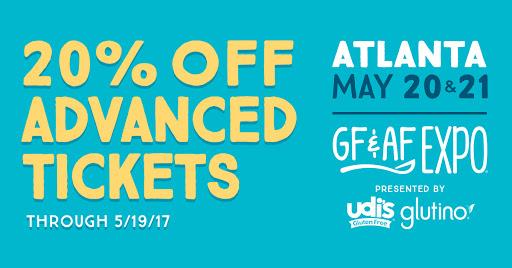 20 percent off GFAF Atlanta