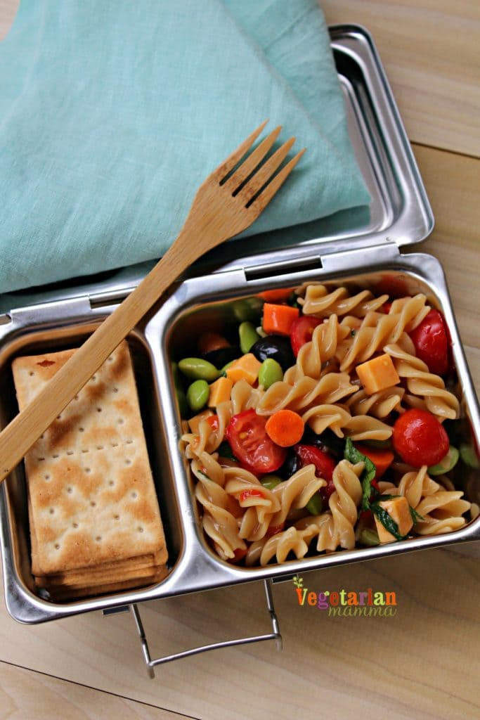 Kid-Friendly-Pasta-Salad-@Vegetarianmamma.com-Pack-Your-Lunch-683x1024