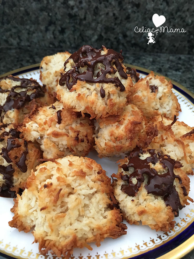 chocolate-coconut-macaroons-celiac-mama