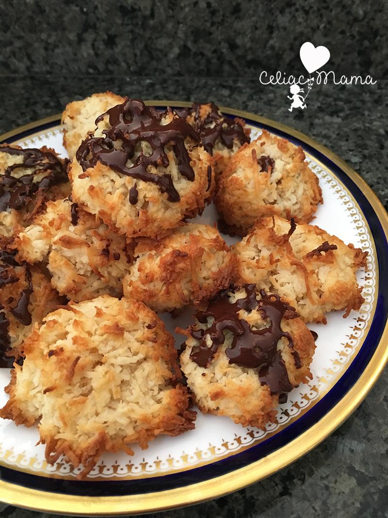 chocolate-macaroons-refined-sugar-free-celiac-mama