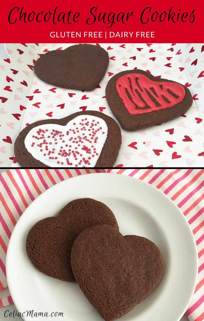 chocolate-sugar-cookies-gluten free dairy free pin