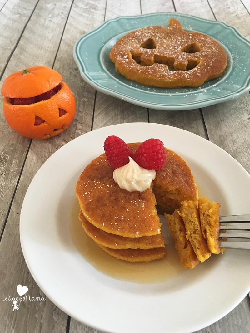 gluten free pumpkin pie pancakes