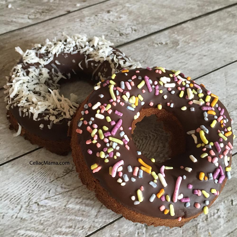 grain free vegan donuts
