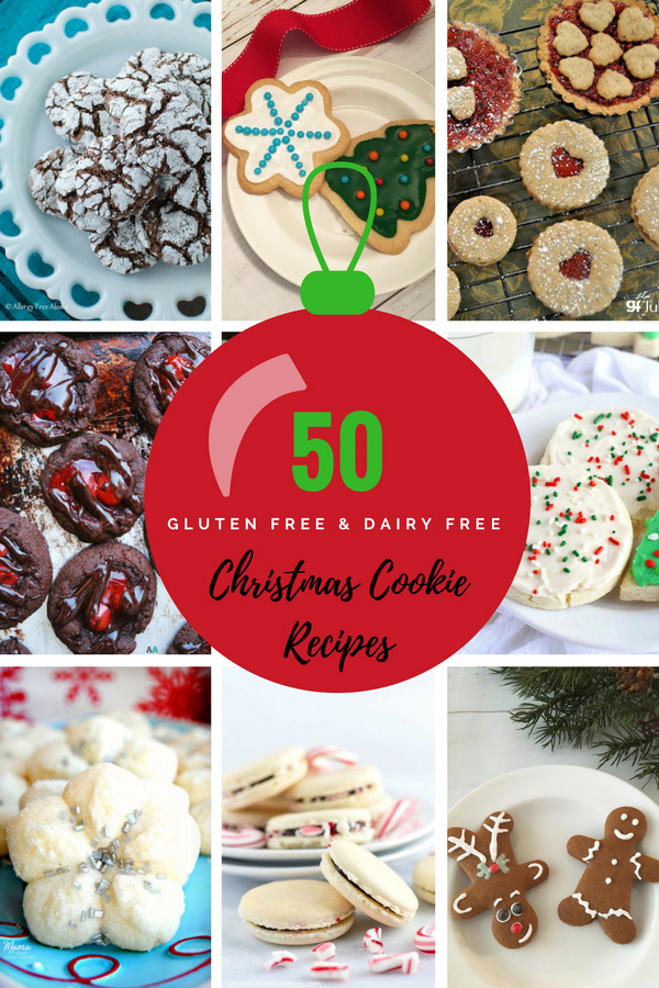 50 gluten free dairy free christmas cookies recipes