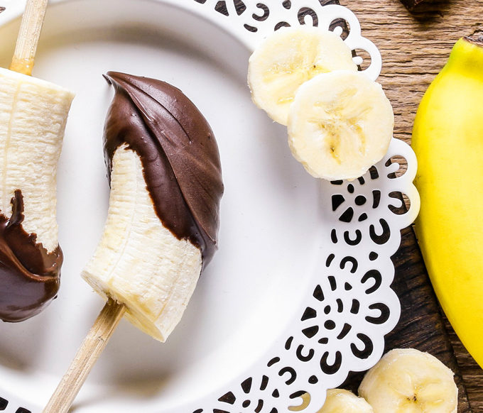 gluten free banana-chocolate-treats