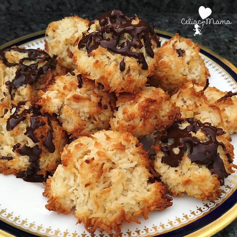 chocolate-coconut-macaroons-celiac-mama-2