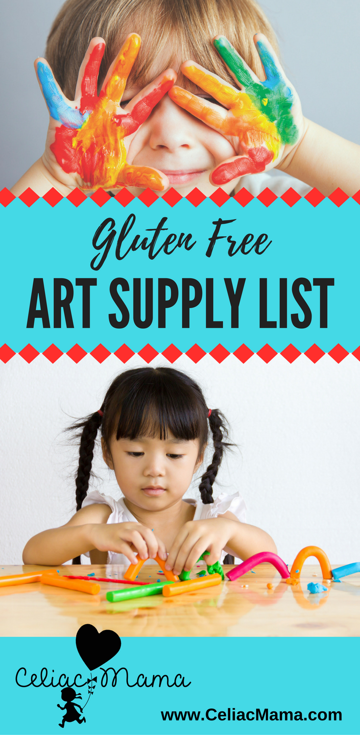 gluten free art supply list