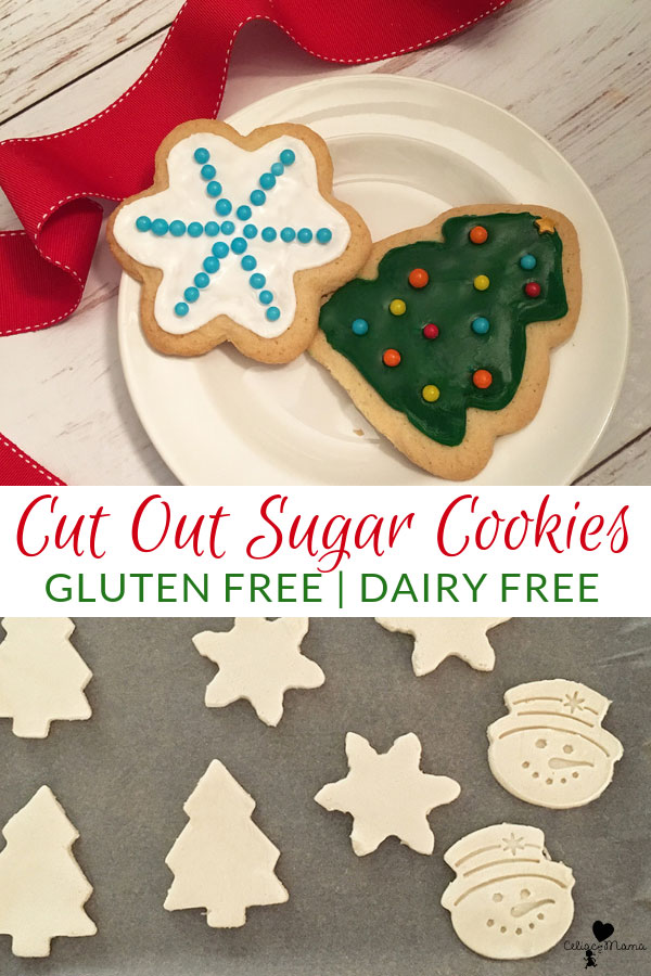 Gluten Free Christmas Cut Out Cookies