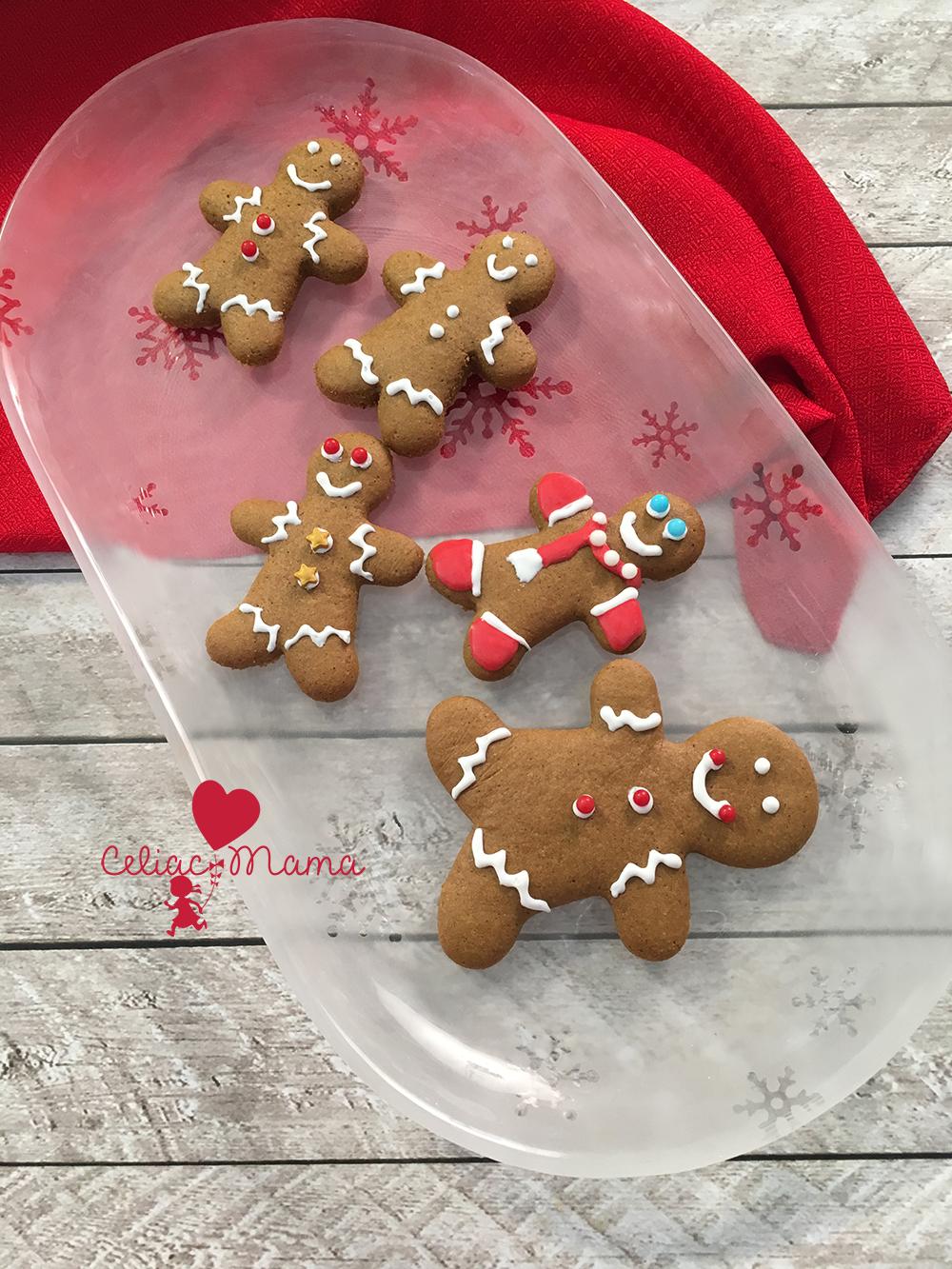 gluten-free-gingerbread-men-cookies-red-plate