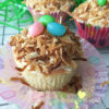 Gluten Free Toasted Coconut Cupcakes