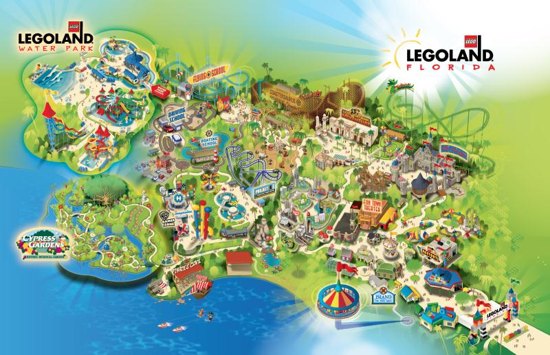 legoland florida map