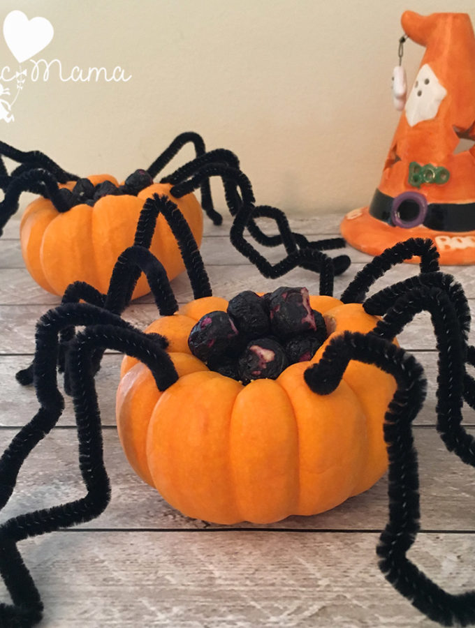 spider-pumpkins-w-blueberries