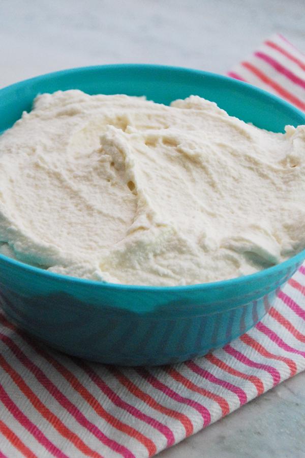 vanilla vegan frosting
