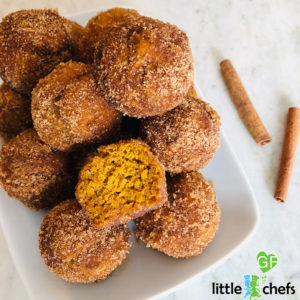 plate of gluten free donut holes